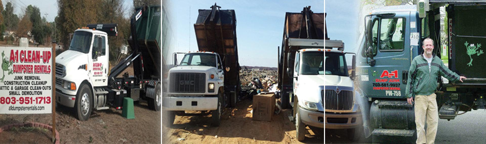 A1 Dumpster Rentals Kannapolis NC
