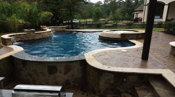 Custom Pool Cypress TX