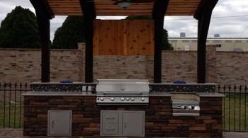Outdoor Kitchen Contractor Cypress TX