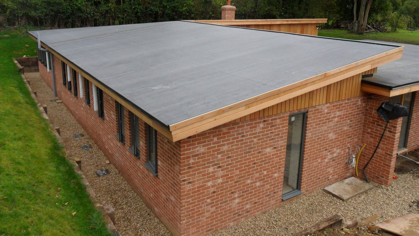 Flat Roof Installation Services Woodinville WA